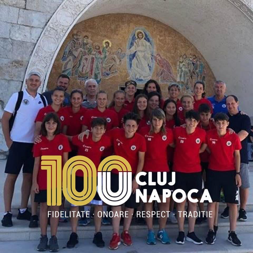"""Au început cum au terminat  """"U"""" Olimpia Cluj, victorie în"""